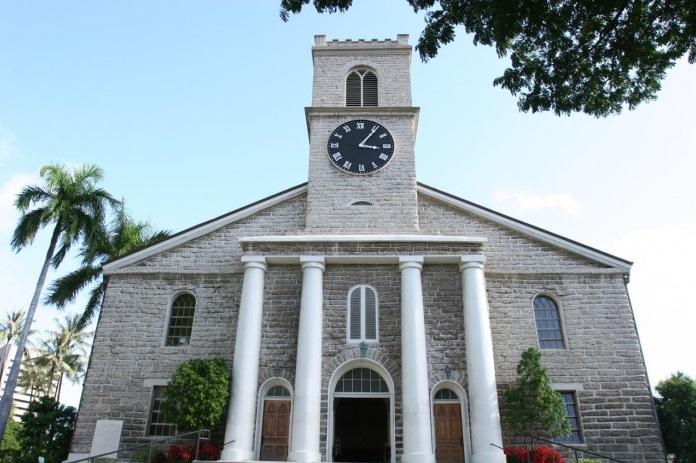 ハワイ オアフ島 セカワイアハオ教会