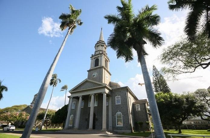セントラル・ユニオン教会 大聖堂 ハワイ オアフ