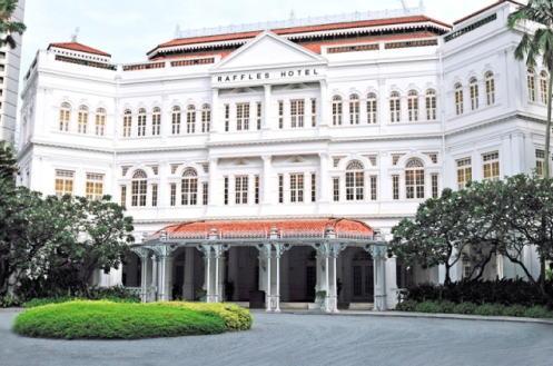 ラッフルズ・ウエディング ホテル シンガポール