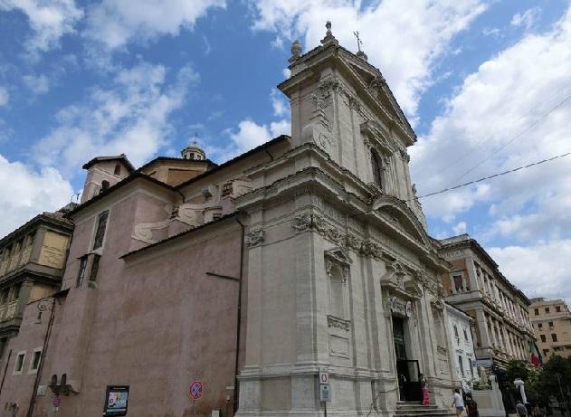 イタリア サンタマリア・デッラ・ヴィットリア教会