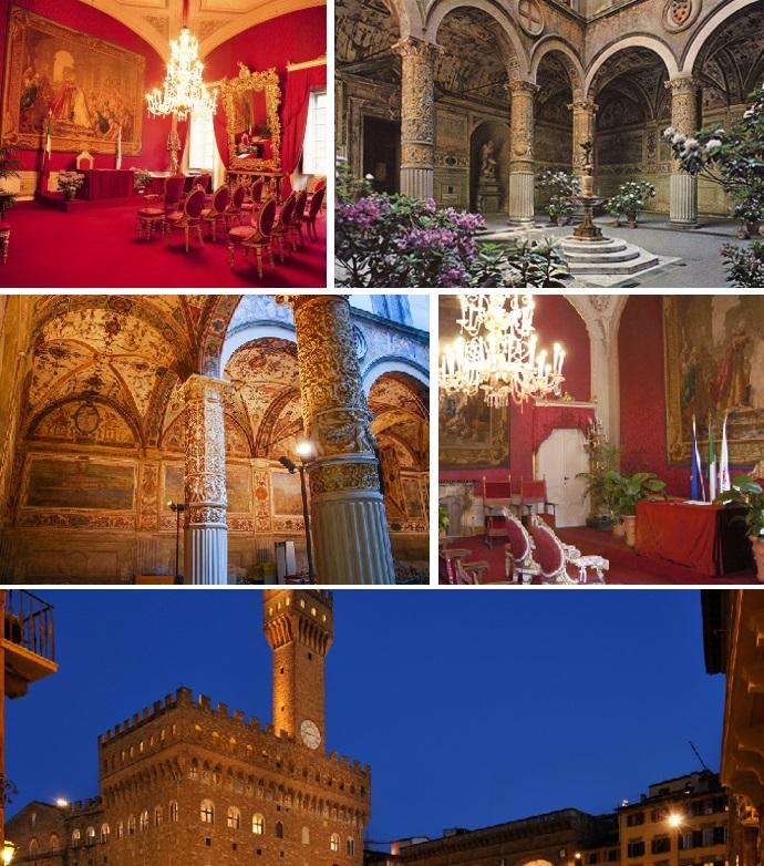 イタリア ヴェッキオ宮殿