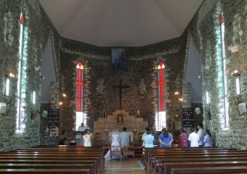 タヒチ 聖フランソワ・ザヴィエ教会