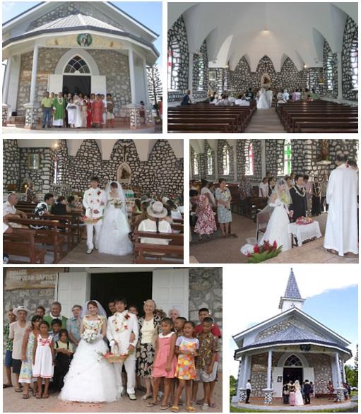 タヒチ 聖ジョン・パプティスト教会