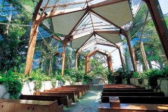 ウェイフェア・チャペル(ガラスの教会)